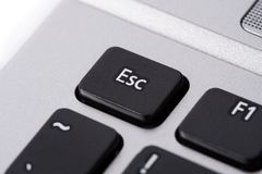 Esc button Stock Image