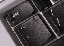 Esc computer key Stock Image
