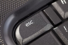 Esc key Royalty Free Stock Image