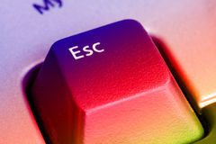 Esc Key Stock Photo
