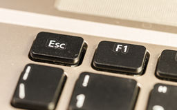 Esc, a keyboard detail Stock Images