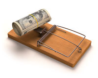 Esca dei soldi Immagine Stock
