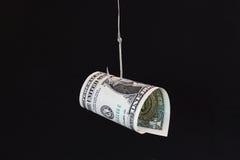 Esca dei soldi Fotografia Stock