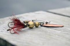 Esca di pesca Fotografia Stock Libera da Diritti