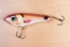 Esca di pesca Immagini Stock