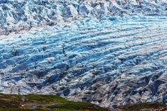 Esca il ghiacciaio Immagine Stock Libera da Diritti