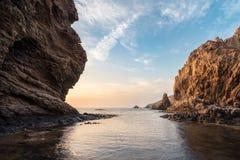 Esca a Mare Nostrum - AlmerÃa Spagna fotografia stock