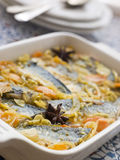 Escabeche of Sardines Stock Photo