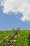 Escada à parte superior fotos de stock royalty free