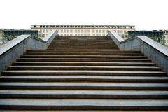 A escada é a maneira ao sucesso fotografia de stock royalty free