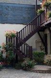 Escada ao ar livre Fotografia de Stock Royalty Free