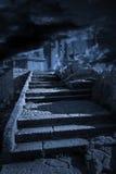 Escada ao céu ou ao inferno Imagem de Stock Royalty Free