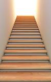 Escada ao futuro. Imagens de Stock Royalty Free