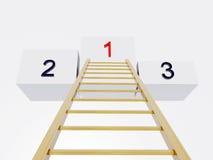Escada ao sucesso Imagem de Stock