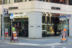Escada Boutique on Friedrichstrasse Stock Images