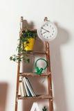 Escada da decoração no espaço de trabalho Foto de Stock Royalty Free