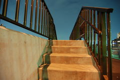 Escada da noite Imagem de Stock