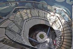 Escada da rotação imagem de stock