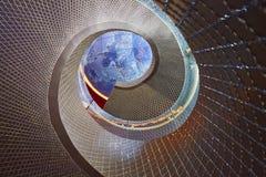 Escada da rotação foto de stock