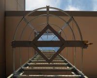 Escada da segurança Imagens de Stock Royalty Free
