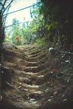Escada da sujeira Fotografia de Stock Royalty Free