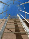 Escada de aço 02 Imagem de Stock