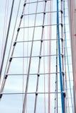Escada de corda marinha imagem de stock royalty free