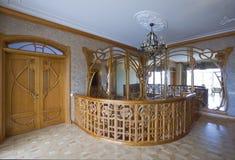 Escada de madeira. Imagens de Stock Royalty Free