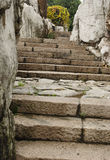 Escada de pedra Foto de Stock