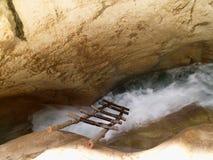 Escada dentro em qualquer lugar Imagens de Stock