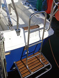 Escada do barco de vela Fotografia de Stock Royalty Free
