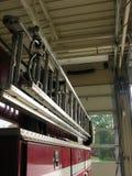 Escada do carro de bombeiros Fotografia de Stock