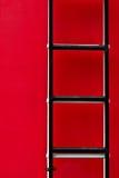 Escada do carro de bombeiros Imagem de Stock