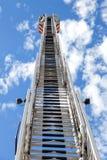 Escada do carro de bombeiros Fotos de Stock