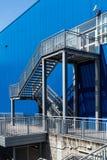 Escada do escape de fogo foto de stock royalty free