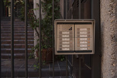 Escada do intercomunicador à parte inferior Imagem de Stock Royalty Free