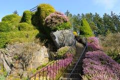 Escada do jardim Foto de Stock Royalty Free