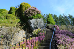 Escada do jardim Imagem de Stock