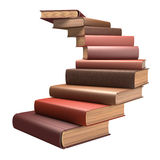 Escada do livro Imagem de Stock