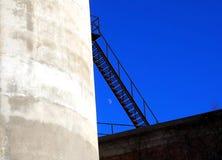 Escada do metal Imagem de Stock