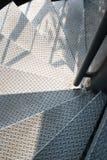 Escada do metal Foto de Stock Royalty Free