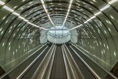Escada do metro Imagens de Stock Royalty Free