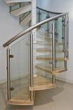 Escada do parafuso Fotos de Stock Royalty Free
