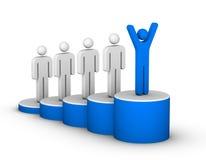 Escada do sucesso Imagem de Stock Royalty Free