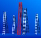 Escada do sucesso. Fotos de Stock