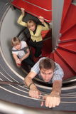escada do sucesso - desafio e sustentação fotos de stock royalty free