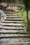 Escada do tijolo Fotos de Stock Royalty Free