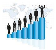 Escada e hierarquia Fotografia de Stock Royalty Free