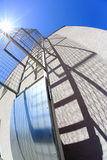 Escada e sua sombra Foto de Stock