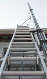 Escada exterior da casa Imagem de Stock Royalty Free